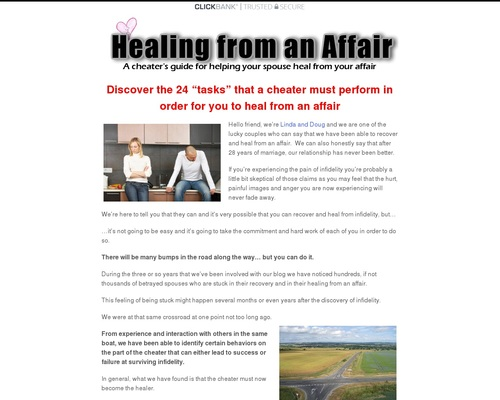 Healing From An Affair: A Cheater's Guide For Helping Your Spouse