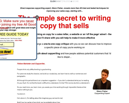 Write Better Copy: Order Today - All Good Copy