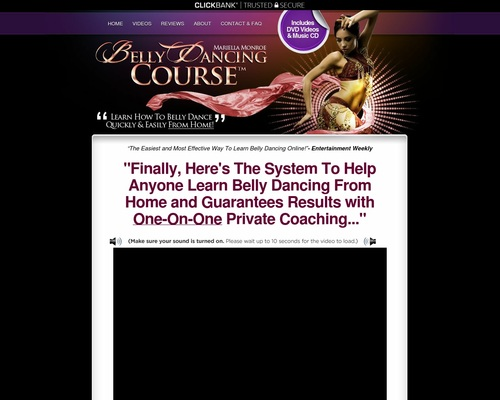 &#9829 BellyDancingCourse - The #1 Home Belly Dancing Class With 50