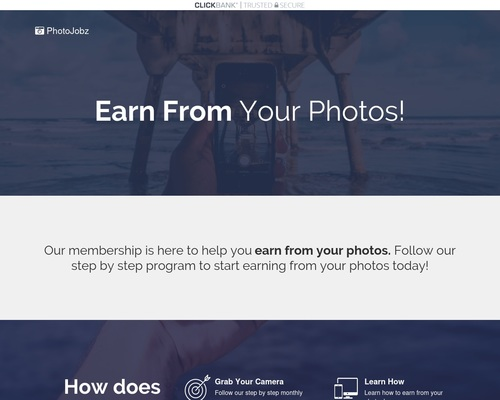 PhotoJobz | Get Paid To Take Photos!