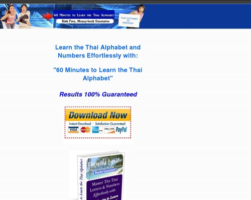 Learn the Thai Alphabet in Minutes. Learn Thai Font, Thai Symbols and