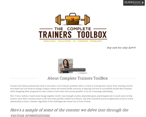 Complete Trainers Toolbox – Practical Solutions to Common