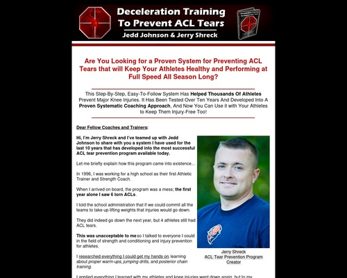 How to Prevent ACL Tears - Drills to Train Deceleration - How to