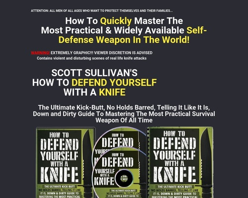 How To Defend Yourself With A Knife