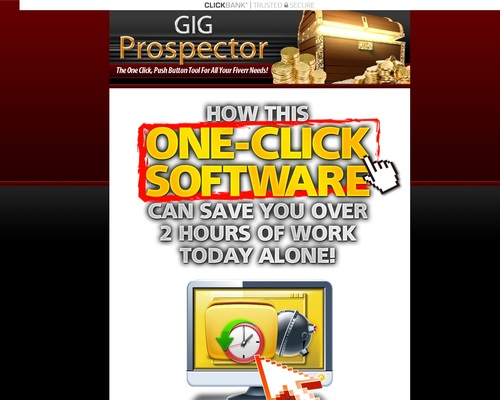 GIG Prospector - The One Click, Push Button Tool For All Your Fiverr