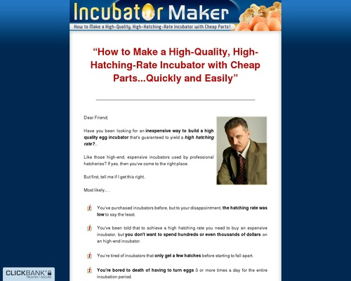 Incubator Maker - How to Make a High-Quality, High-Hatching-Rate