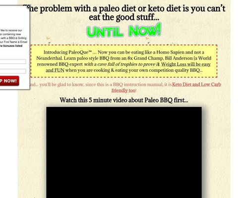 PaleoQue - Competition Quality Paleo BBQ for the Paleo Diet &