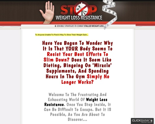Stop Weight Loss Resistance: Strategies To Break Through Weight Loss