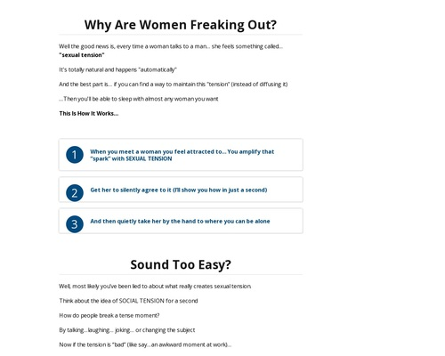 The Effortless Effect | Simple – How To Attract A Woman Without