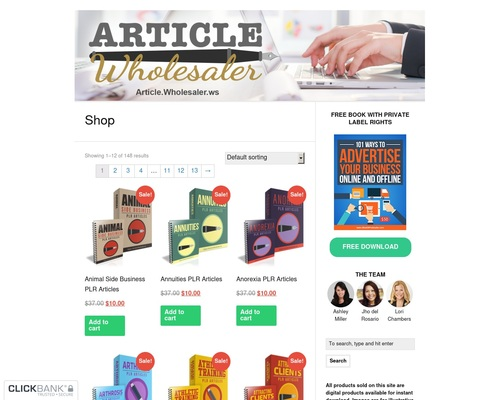 Article Wholesaler — Done-for-You Content and Articles with
