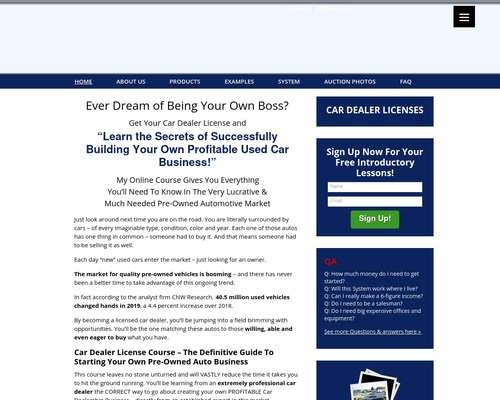 Car Dealer License- Your Guide to Success