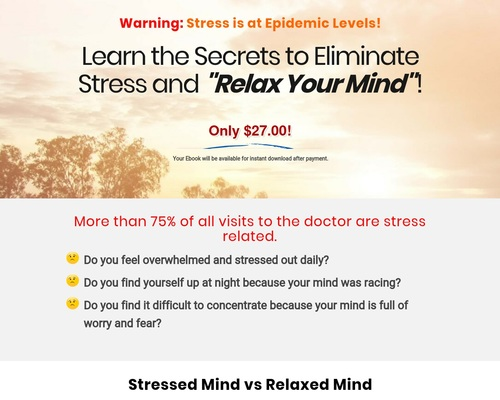 Relax Your Mind Meditation — Eliminate Stress Now - Natural