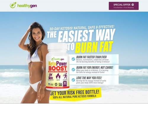 GET KETOPOWER BOOSTER | #1 Keto Weight Loss Product