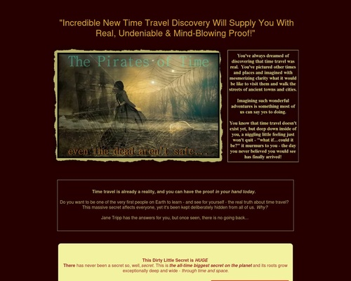 The Pirates Of Time - Absolute Proof Of Time Travel For You!