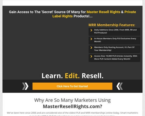 Master Resell Rights   Private Label Rights PLR   Master Resale