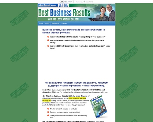Speed Study Book - Get the Best Business Results With the Least