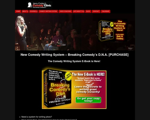 New Comedy Writing System - Breaking Comedy's D.N.A. [PURCHASE]