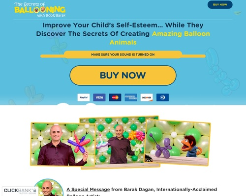The Secrets of Ballooning – Improve Your Child's