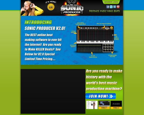 Now its easy to make rap beats online with our new beat maker – Sonic