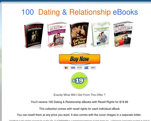 E 100 Dating & Relationships eBooks