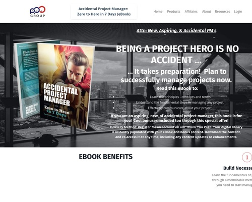 New Project Management Method Ebook With Bonuses To Drive Conversions