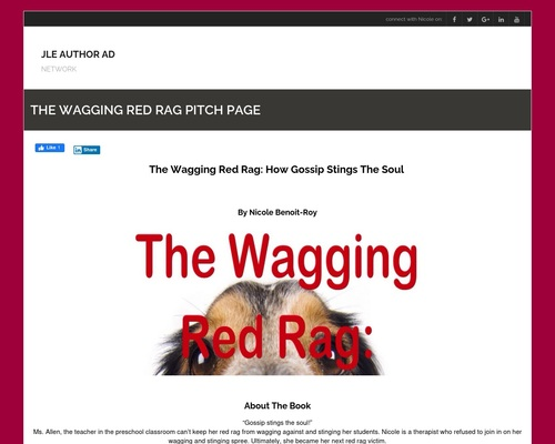 The Wagging Red Rag Pitch Page - JLE AUTHOR AD