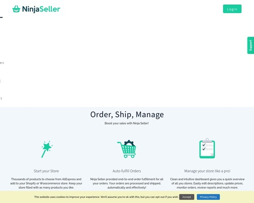 Start your dropshipping business on Shopify or Woocommerce | Ninja