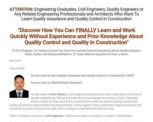 QA/QC Engineers Academy – It is a site that teaches about