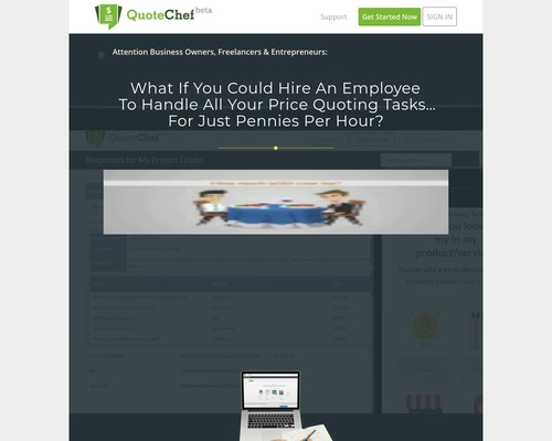 QuoteChef - Cost Estimation Web Forms Made Simple & Fun.